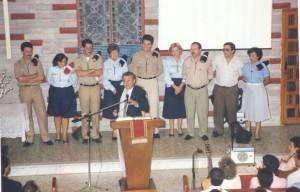 Exploradores del Rey en 1988