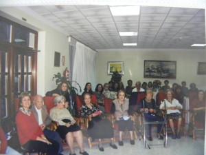 Los residentes de la Casa de Retiro en 2002